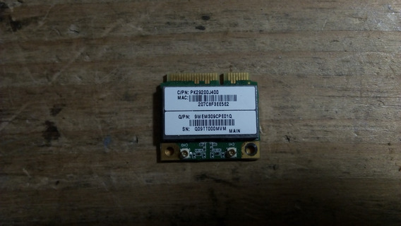 Placa Red Wifi Notebook Acer 5552