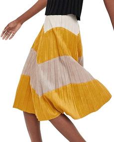 4c35f9495f Falda Plisada Zara - Polleras de Mujer en Mercado Libre Argentina