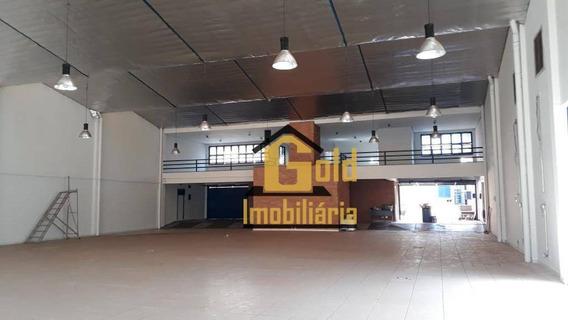 Salão Comercial 1055 M² Para Locação R$ 23.000 / Mês - Jd. América - Ribeirão Preto Sp - Ga0071