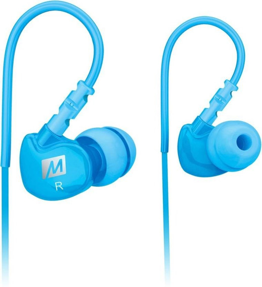 Fone In Ear Mee Audio M6 Sport Teal Oferta + Nf