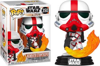 Funko Pop 350 Star Wars Mandalorian Incinerator Stormtrooper