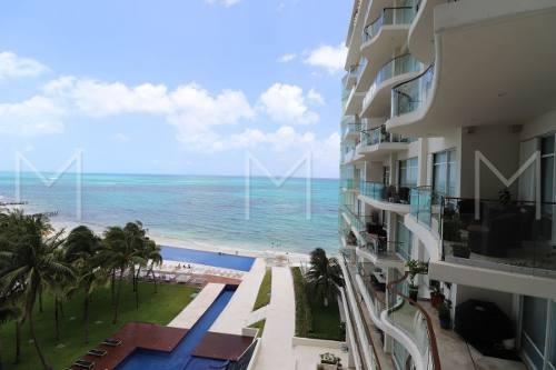 Departamento Renta Cancun En El Mar Punta Cancun Piso 6