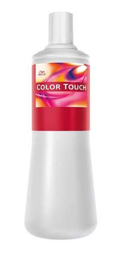 Agua Oxigenada Wella Color Touch 6 Vol 1000 Ml Profesional