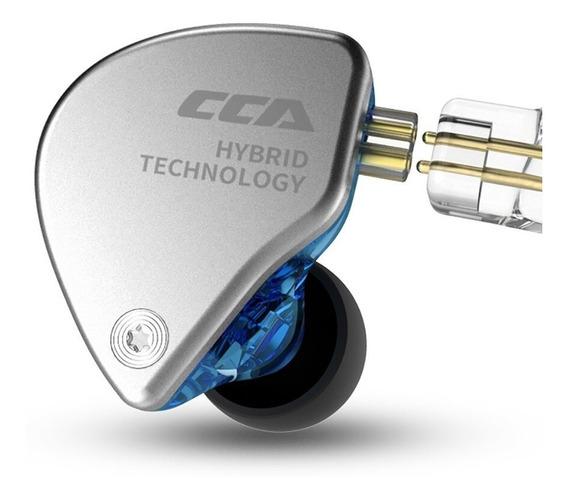 Fone Cca C4 Intra-auricular Híbrido 1ba+1dd
