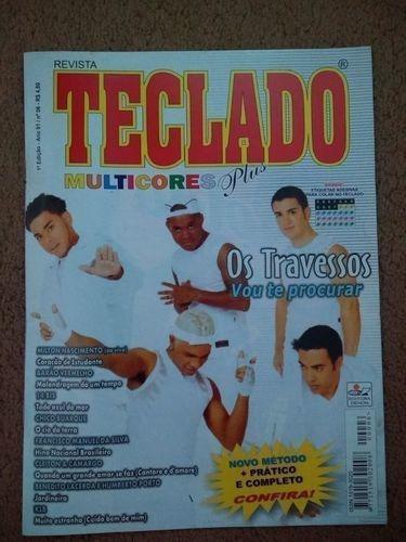 Revista Teclado Multicores Plus 1 Ed. Ano 1, Nº 6 - Os Tr...