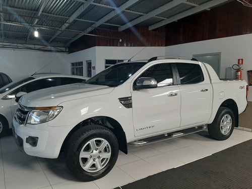 Ford Ranger 3.2 Limited 4x4 Cd Diesel Automático Couro Top