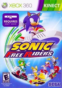 Sonic Free Riders - Xbox 360 - Midia Fisica (game Tech)