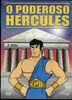 O Poderoso Hércules Box Com 3 Dvds - Original Novo Lacrado