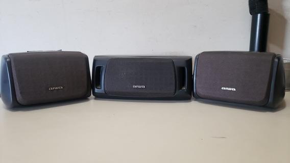 Conjunto Surround Aiwa - Caixas De Som