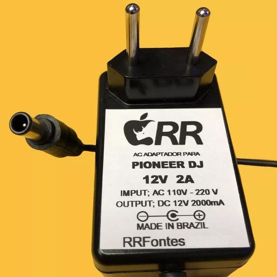 Fonte 12v Para Mixer Controladora Pioneer H-085 Xdj Aero