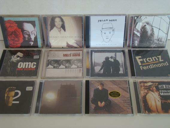 Lote 12 Cds - Echo & Bunnymen - Elton John - Franz Ferdinand