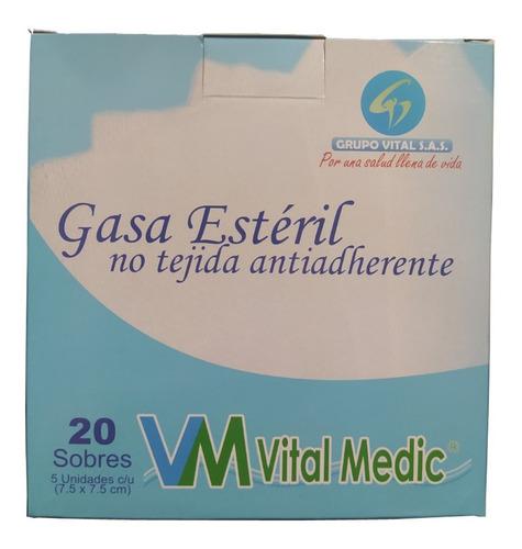 Gasa Esteril Antiadherente Caja X 20 Sobres