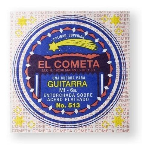 Imagen 1 de 1 de Cometa Cuerda 513(12) Para Guitarra Acústica, 6a, Cobre