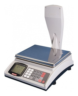 Balanza comercial digital Moretti Shop 30 kg con mástil 220V