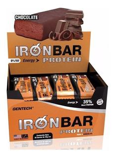 Barras Proteicas Iron Bar Protein Gentech 20 U
