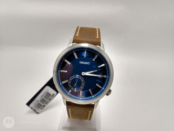 Relógio Orient Mbsc1030 Aço/couro Acompanha Nota