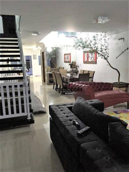 Sobrado Residencial À Venda, Santa Maria, São Caetano Do Sul. - So0287