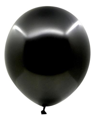 Globo R 12 Negro X 25 Unidades, 3.2 Gr, Excelente Calidad