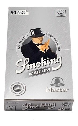 Seda Smoking Prata Pequena Original Envio Imediato + Brinde!