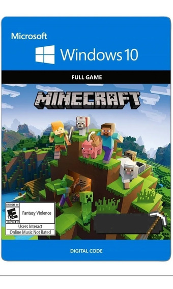 Minecraft Windows 10 Key Original - Envio Imediato