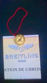 Breitling Medalhinha E Certificado