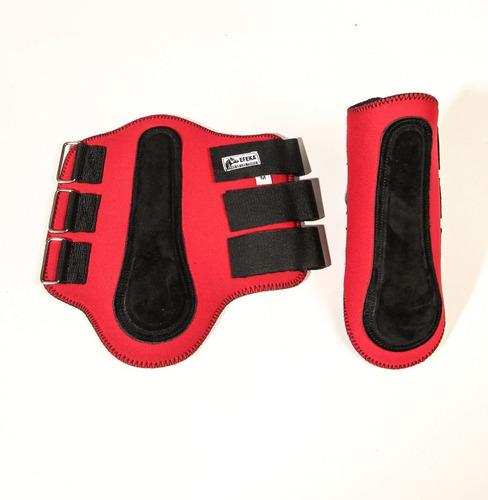 Imagen 1 de 5 de Protector Impermeable Cubre Caña Rojo -  Tienda Ecuestre