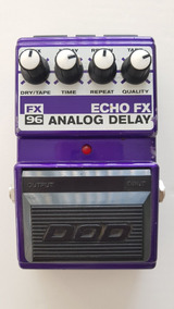 Pedal Dod Fx 96 Analog Delay, Made In Usa, (raro)