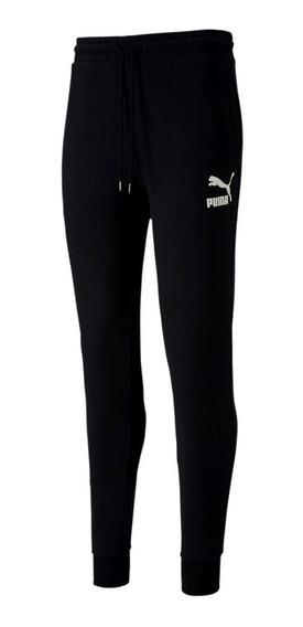 Pantalon Puma De Hombre Sweat Cuff Negro