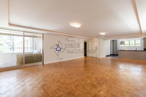 Apartamento À Venda No Jardim Paulista, 209 M², 3 Dormitórios, 1 Suíte, 2 Vagas ! - Ap2627at