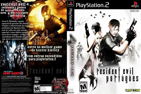 Playstation 2 Resident Evil 4 Dublado Português Ps2