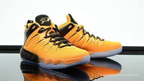 Tenis Nike Air Jordan Cp3. Ix (yellow Dragon) Numeração 43