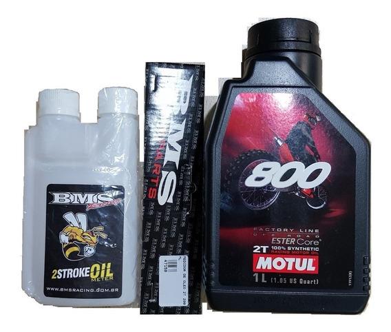 Óleo Motul 800 2 Tempos 1 Litro - 100% Sintético Frete Grati