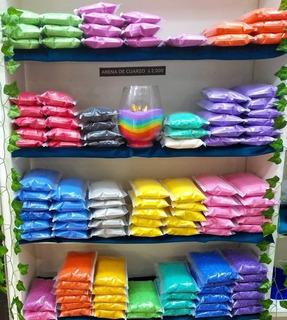 Arenas De Cuarzo Colores