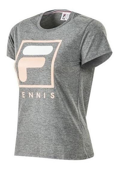 Remera Fila Tennis 2.0 De Mujer