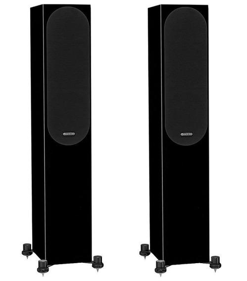 Monitor Audio Silver 200 Preto Alto Brilho Novo Com N Fc