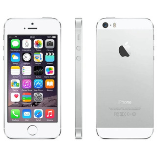 iPhone 5s 16gb Prata Desbloq. Câmera 8mp 4g E Wi-fi - Apple