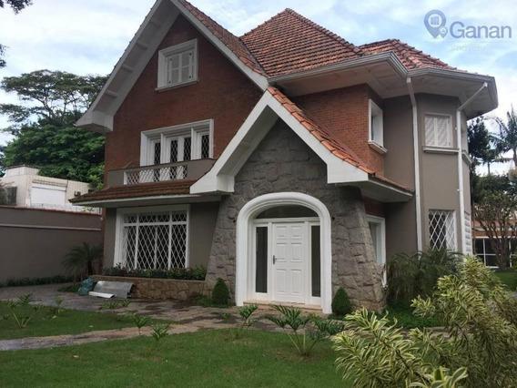 Casa Com 6 Dormitórios À Venda, 721 M² Por R$ 12.900.000 - Indianópolis - São Paulo/sp - Ca0321