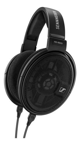 Audífono Sennheiser Hd 660s Para Audiofilos Diseño Abierto