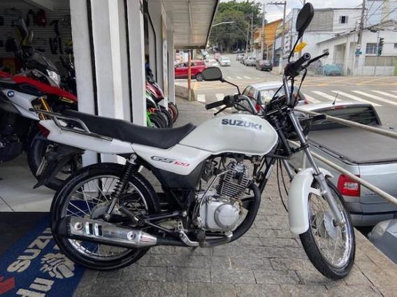 Suzuki Gs 120 2017 Único Dono