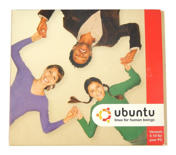 Ubuntu 5.10 - 2 Cds - Raridade