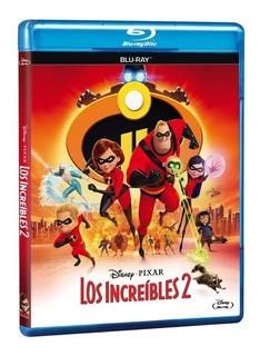 Los Increibles 2 Blu Ray Original Nuevo