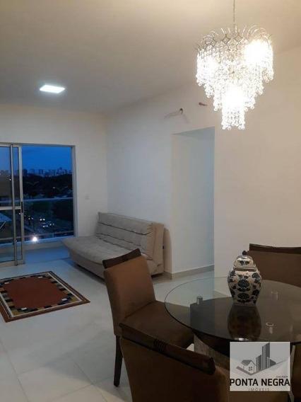 Condomínio Splendore Residencial, 3 Quartos (sendo 1 Suíte), 2 Vagas De Garagem, 96 M2, Mobiliado - Ap0611