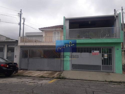Sobrado Com 3 Dormitórios À Venda Por R$ 620.000,00 - Vila Dalila - São Paulo/sp - So0980