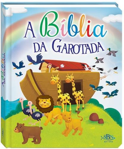 Imagem 1 de 5 de Livro A Bíblia Da Garotada - Infantil Com Belas Ilustrações