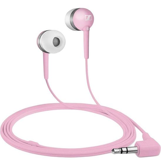 Fone De Ouvido Sennheiser Intra Auricular Pink Cx300