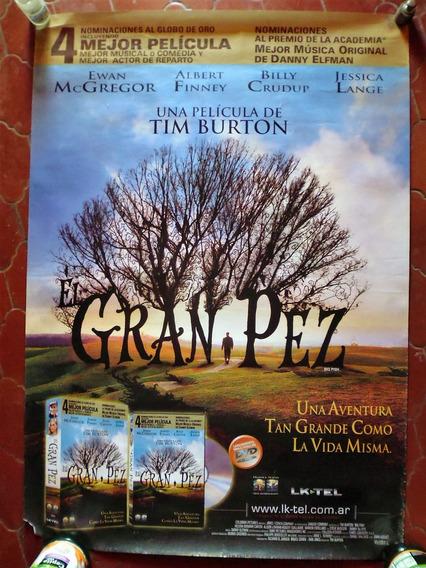 Poster Original Video El Gran Pez (2003) Big Fish
