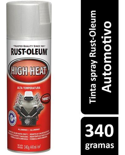 Imagem 1 de 2 de Tinta Spray Alta Temperatura 1093ºc Rust-oleum Escolha A Cor