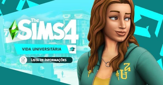 The Sims 4 Vida Universitária (apenas Expansão)