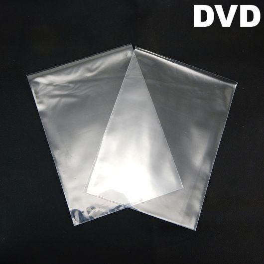 500 Unidades Envelopes De Plastico Transparente 14x19cm Dvd