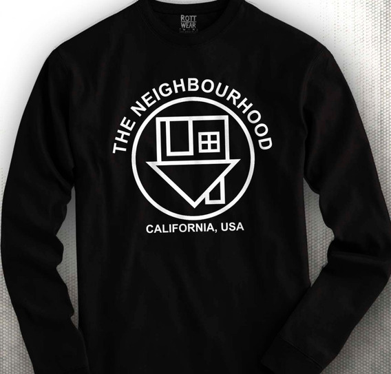 The Neighbourhood The Nbhd Manga Larga Rott Wear M2 Envió